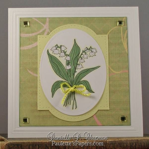 Lily of the Valley My Card Resume Pinterest Cards and Craft - resume valley