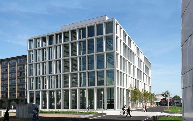 Chipperfield - Nouveaux laboratoires WSJ-355 Novartis Campus - Burckhardt+Partner