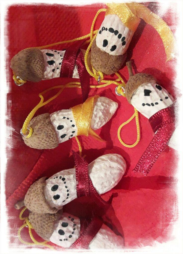 snowman diy peanuts