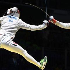 2016 Rio Olympic - Men's Fencing Germany vs Benin