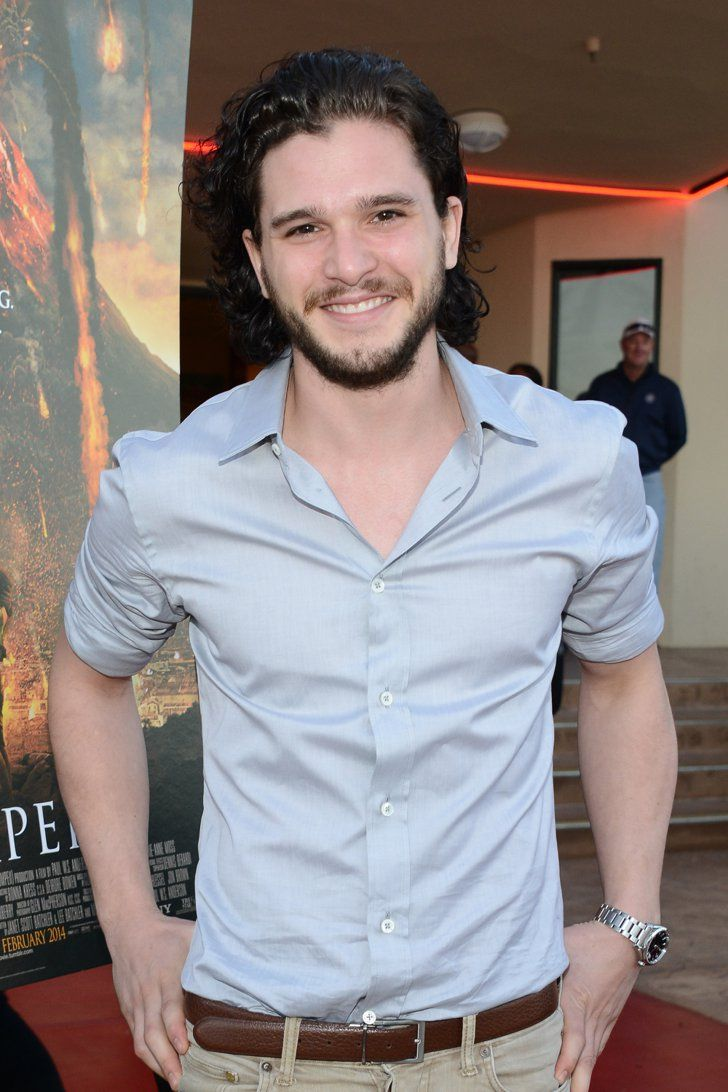 Pin for Later: 93 Stars Whose Real Names Will Surprise You Kit Harington = Christopher Catesby Harington