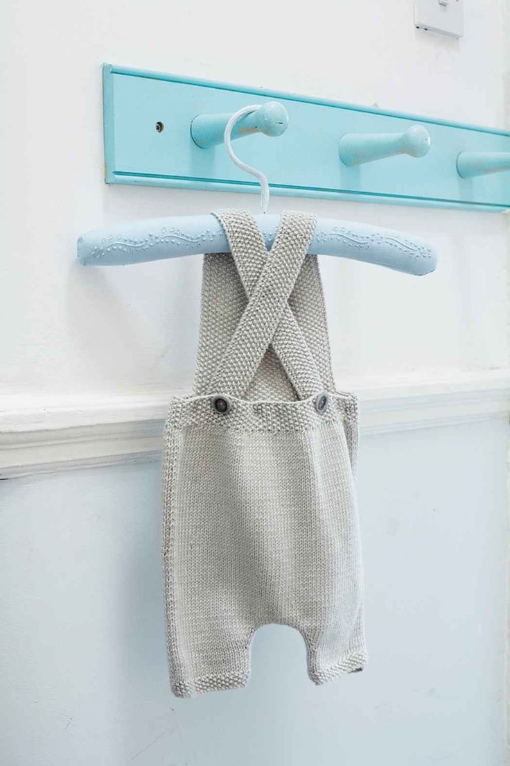 Sweet little coveralls - the pattern is in French but can be translated
