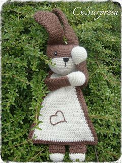 Bunny a la Sascha. With link to Ravelry shop