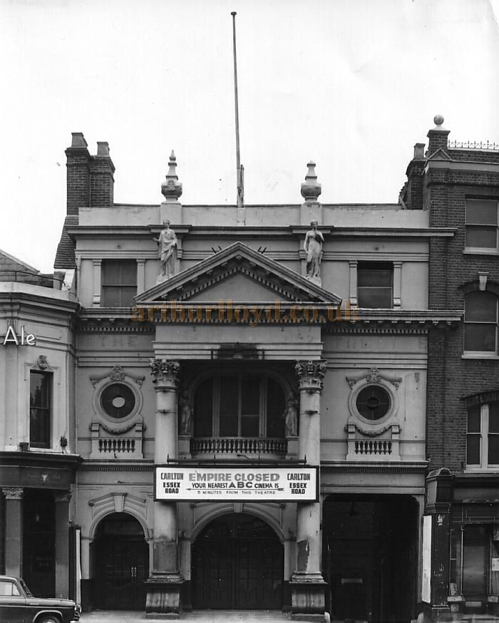 The Islington Empire, in 1962 having closed after being used as a cinema for a number of years. The Theatre was demolished shortly after thi...