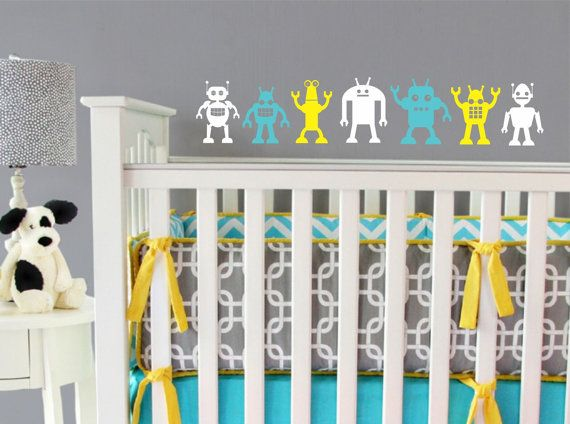 17 best images about ideas for gray 39 s room on pinterest for Funky nursery ideas