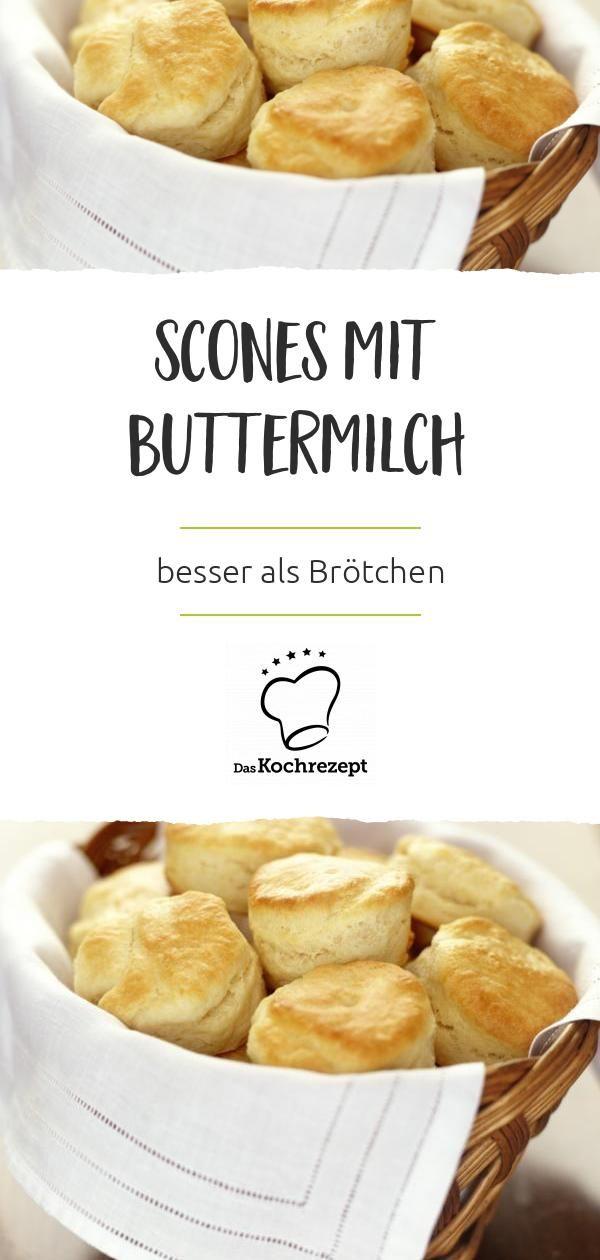 Scones – besonders mit Buttermilch – sind besser als Brötchen! Weil sie sind …   – Kochrezepte