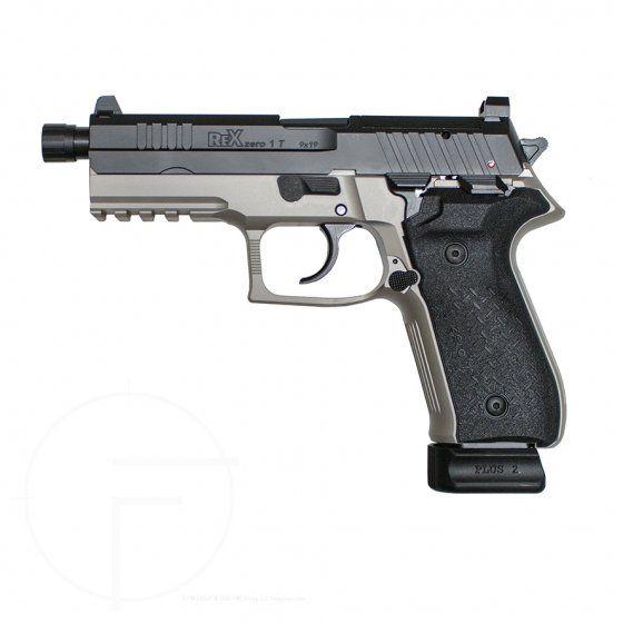 Rex Zero 1T Smoke Grey   Favorite Guns   Hand guns, Guns, Grey