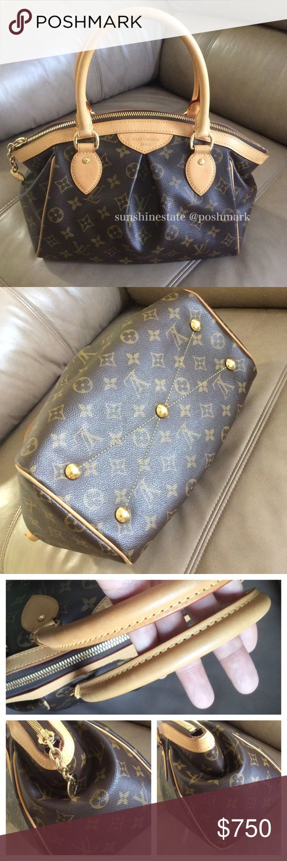 Authentic Louis Vuitton Tivoli PM Like new, very light wear on edges and handles. 100% authentic! Louis Vuitton Bags Satchels