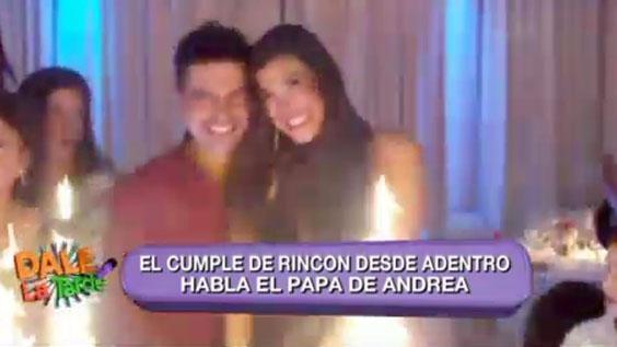 La vedette celebró su cumpleaños número 28 con su novio,Ale Sergi,y toda su familia. Mirá este video exclusivo de Dale la tardecon todo el festejo.