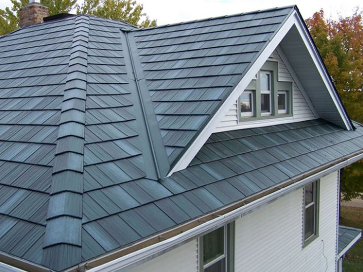 Steel Roofs | Arrowline Roofing | Steel Shingles | EDCO Metal Roofing  Products. Permanent Roofing