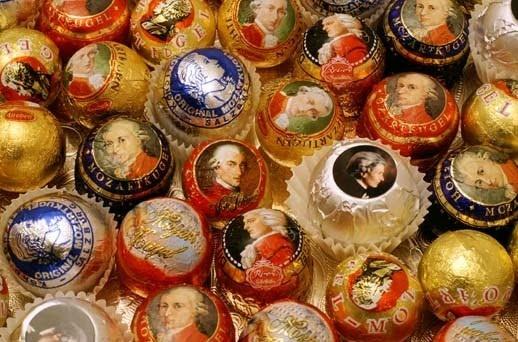 Crazy delicious!!!! Love visiting and eating... Mozart Kugeln (Mozart Chocolate) - Salzburg, Austria
