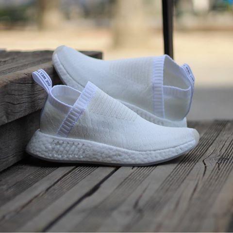 new product b3079 2e343 Adidas NMD CS2 PrimeKnit Women Triple White BY3018 Size  36-40 Price   180