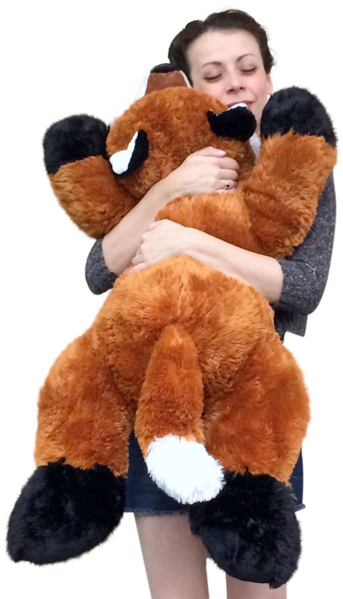 Giant Stuffed Fox 36 Inches Soft Big Plush Superior Quality Large