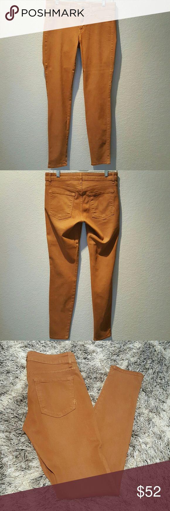 Rich & Skinny Skinny Jeans Beautiful tan/camel color Rich & Skinny Jeans Skinny
