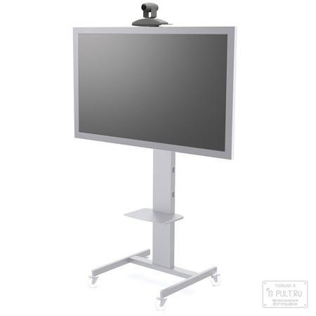 Fix Стойка напольная на колесах FIX MP50 silver  — 10881 руб. —  Напольная стойка FIX MP50 – универсальная стойки для презентаций. Модель изготавливается в строгом корпоративном стиле из металла. Имеет строгий и лаконичный стиль. Напольная стойка позволяет закрепить LED, LCD телевизора или дисплея диагональю экрана от 32 до 55 дюймов. Напольные стойки FIX MP50 предназначены для установки оборудования для презентаций и имеют закрытый плазмастенд. Стойка имеет встроенный кабель-канал для…