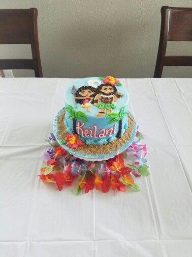 Moana Birthday Cake Moana Party Pinterest Birthdays