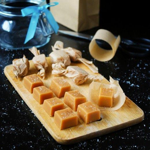 Рецепт - Домашние карамельные конфеты
