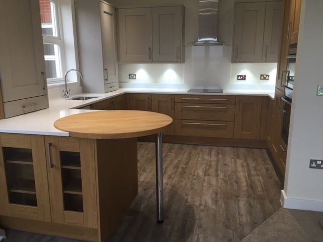 Modern Retirement Apartment ready for it's new owners #openplan #builderscleans