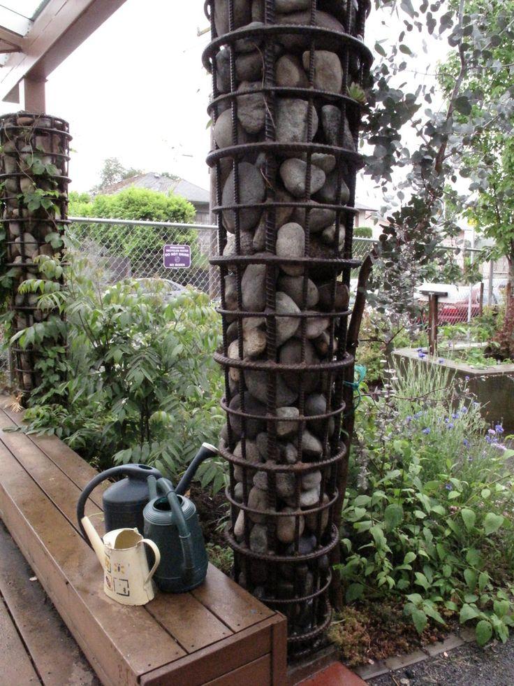 1000 Images About Gabion Ideas On Pinterest Planters 400 x 300