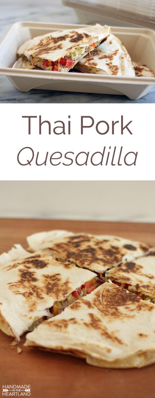 Pulled pork quesadillas recipe