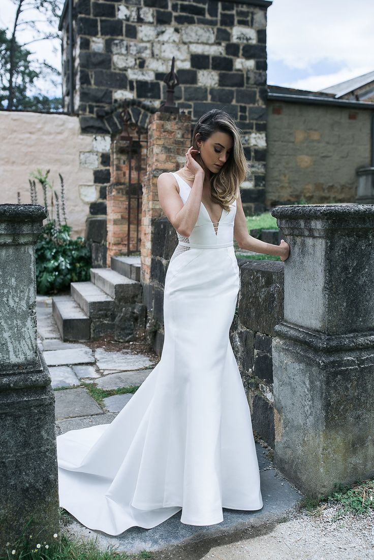 Dreamy shoot // Recently we shot the new collection at Montsalvat in Victoria Pictured is the Shelly/Melanie gown Follow us @kwhbridal
