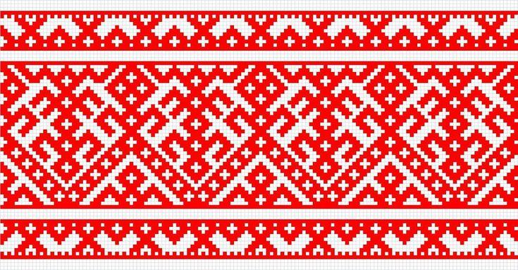Вышивки Ткачества, Славянские
