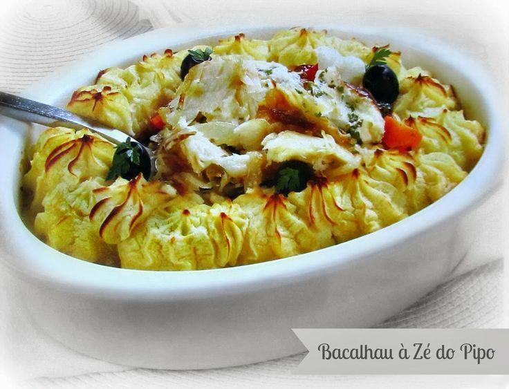 Bacalhau à Zé do Pipo | Receitas e Sabores do Mundo