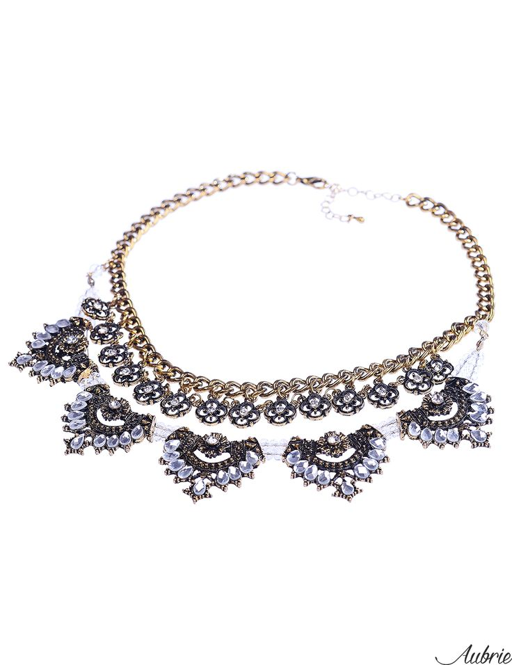 #aubrie #aubriepl #aubrie_necklaces #necklaces #necklace #jewelery #accessories #marla #black #vintage