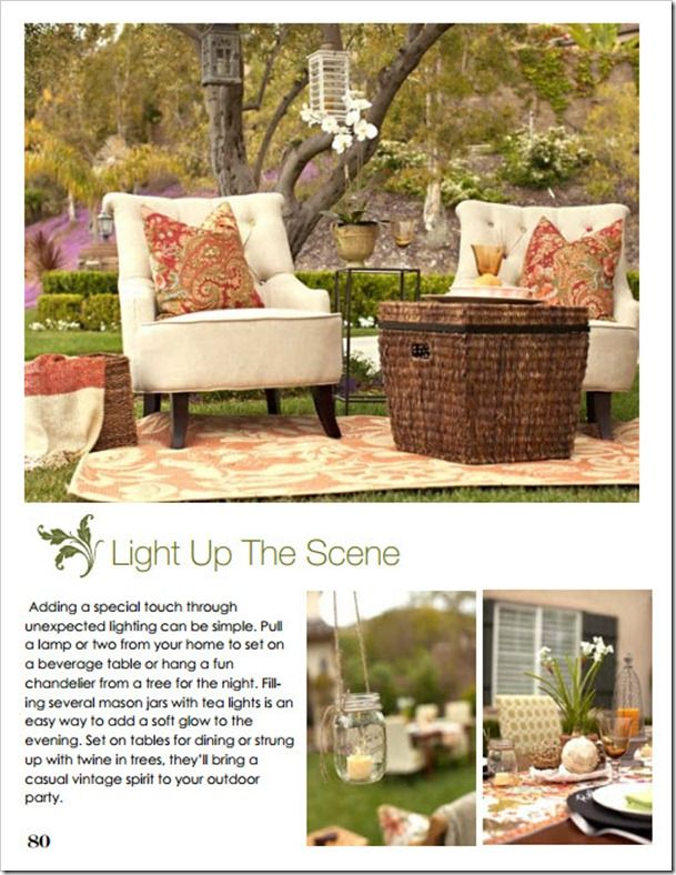 House Of Fifty: Summer Soiree! Hanging Lights. Styled By Casey Grace Design