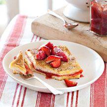 Wentelteefjes met aardbeien ww recept 9p