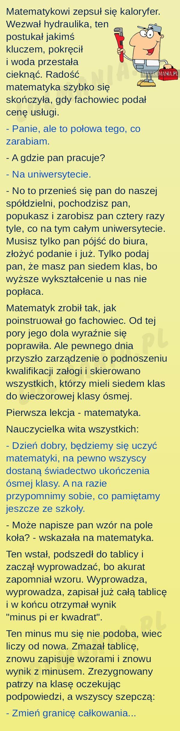 Problemy matematyka ;)