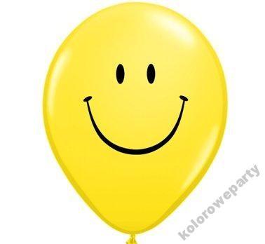 BALON BALONY URODZINY PRZYJĘCIE UŚMIECH SMILE