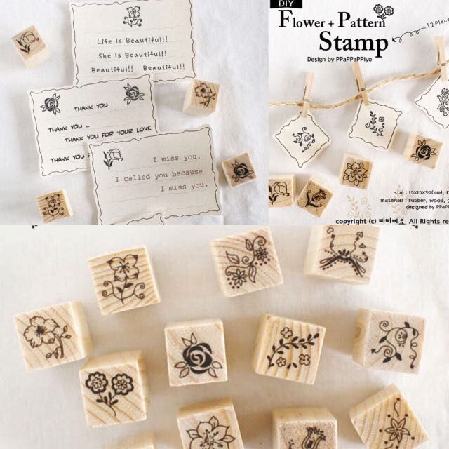 SS-1 Floral stamp set [pre-order]Rm9.90 each consist of 12 piecesCan be used for planner /card decorationWhatsapp or email the code to make your order0167029071 vintage-crafty71@hotmail.com