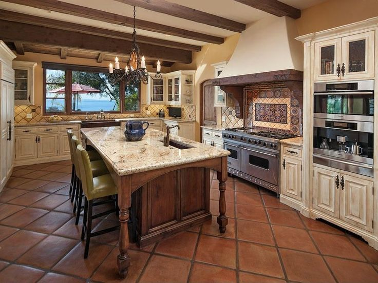 Traditional Kitchen With Raised Panel Viking 48 7 Series Gas Range Tribecca Home