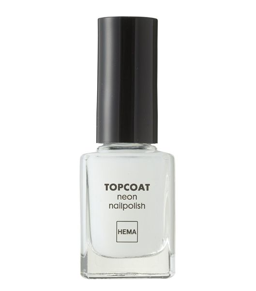 nagellak neon topcoat - HEMA // topcoat