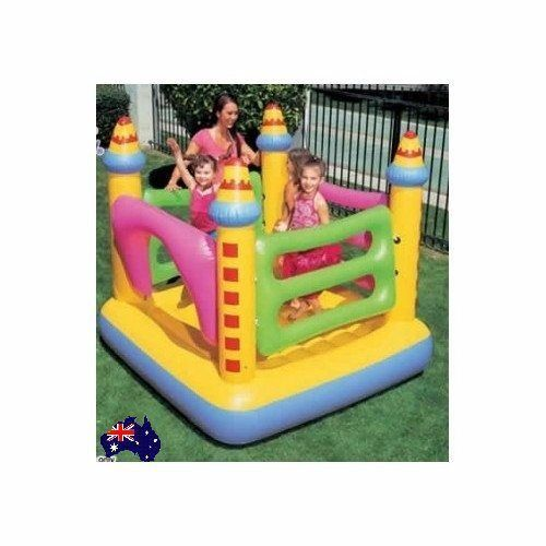 Inflatable Bounce Jumping Castle Kids house Bouncer Toy Set Outdoor Jumper New