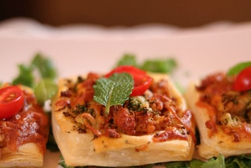 Paneer and Broccoli Burjee Mini Tarts / Mini Savoury Tarts(No onion No garlic…