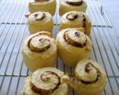 cheese and vegimite scrolls
