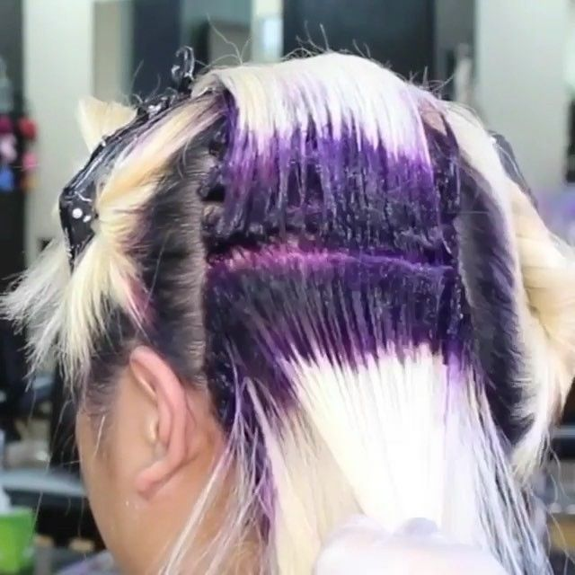 💜🎉 Best of 9 2017 #2 by @kimberlytayhair ⭐️ Here's the backstory! This was Kimberly's first video that went viral. Her career is definitely soaring! Kimberly has the #1 post (diff video) on our sister page @hotforbeauty! #hotonbeauty . . . . . #hairvideo #hairtutorial #lilachair #purplehair #bestof2017