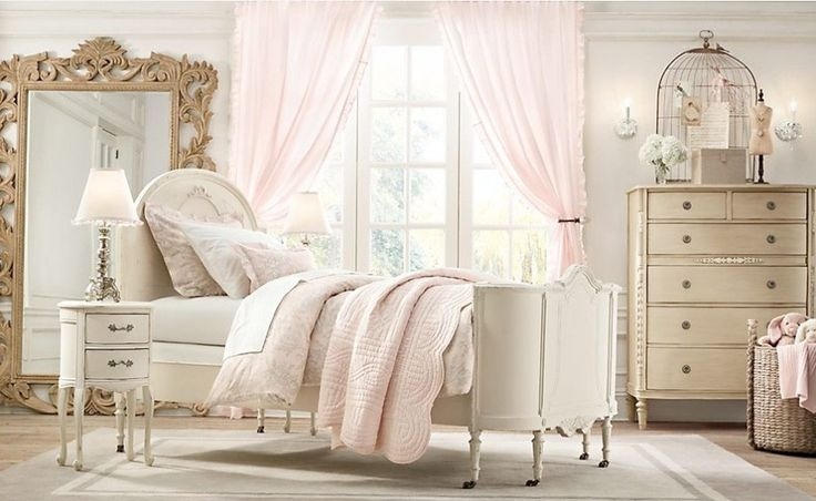 31 sweetest bedrooms in shabby chic style