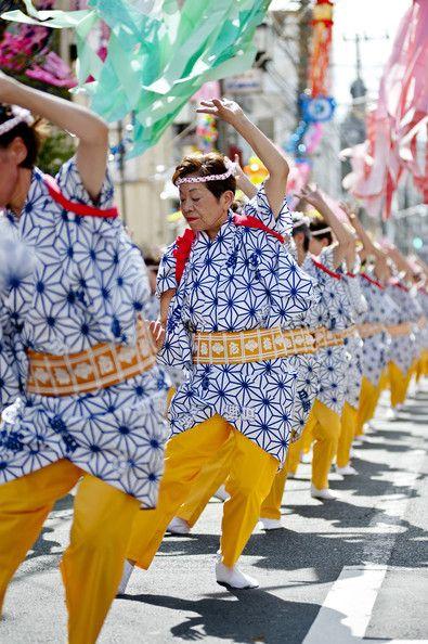 Dancers at Tanabata Festival                                                                                                                                                                                 More