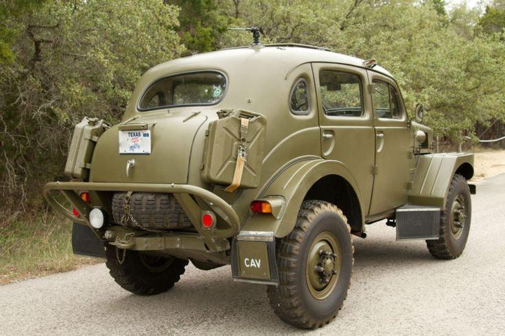 Volvo TP-21 Sugga Swedish Military 4WD - 1956