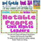 Following the Common Core Curriculum Map for Third Grade Unit 3 from Commoncore.org, this two week unit focuses on the theme Civil Rights Leaders. ...