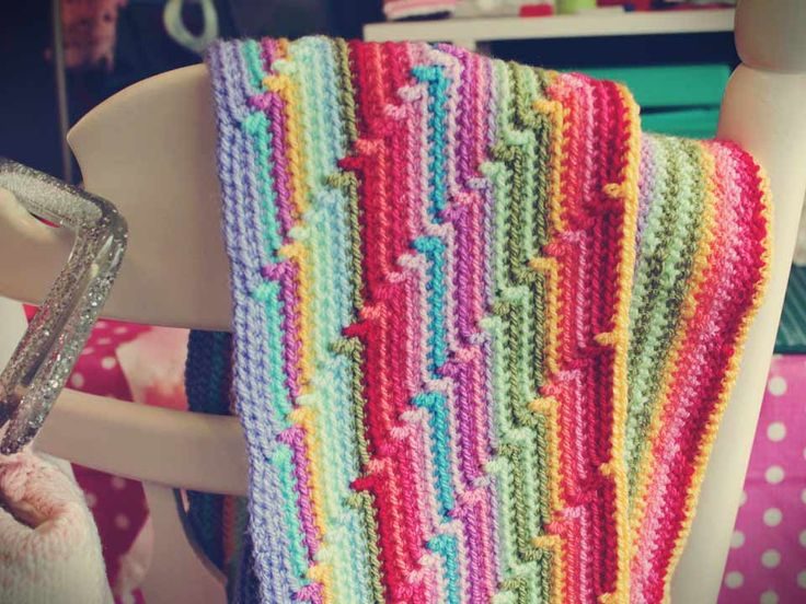 Very clever. Looks complicated but it is just single crochet with a double crochet every so often.