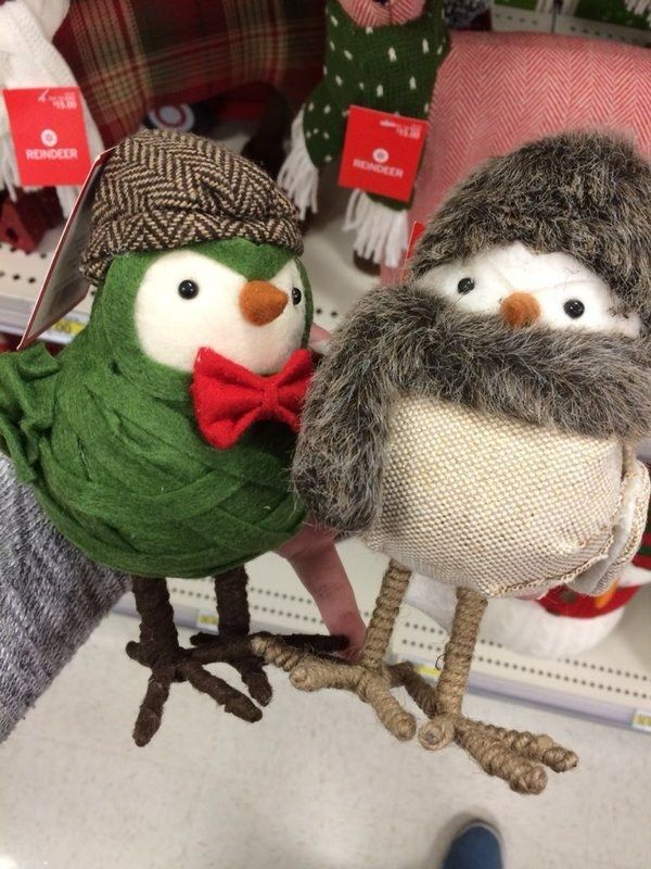 These adorable Harvest Fabric Birds. | 21 Awesome Holiday Things You Can Actually Find At Target