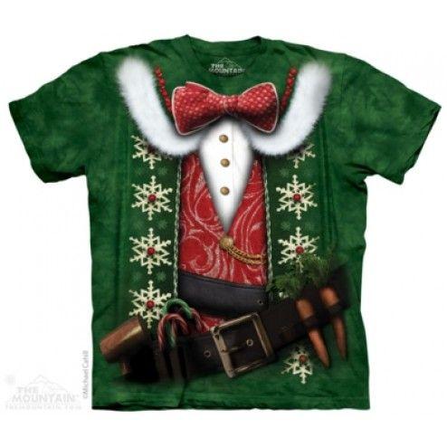 Tricou Craciun Elf Costume