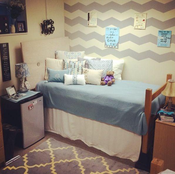 My daughter's dorm room - Morehead State University.