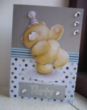 Forever friends Bday card