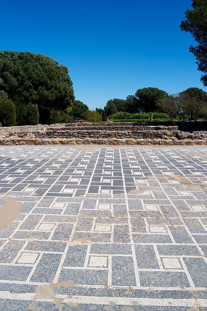 Los mosaicos geométricos de Ampurias.   Matemolivares