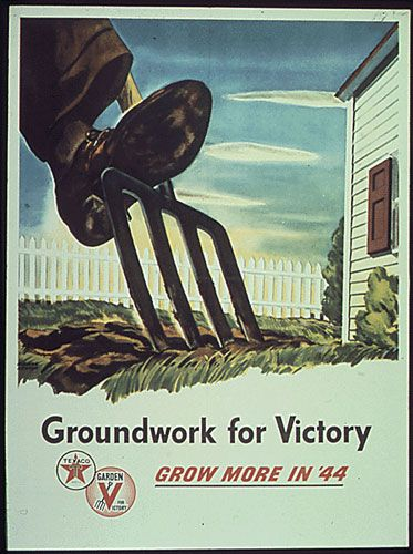 Nice blog that sometimes posts victory garden posters